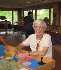 Blooming Butterflies volunteer