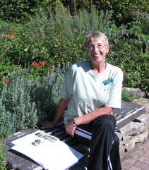 Garden Docent volunteer