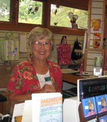 Growing Gift Shop volunteer